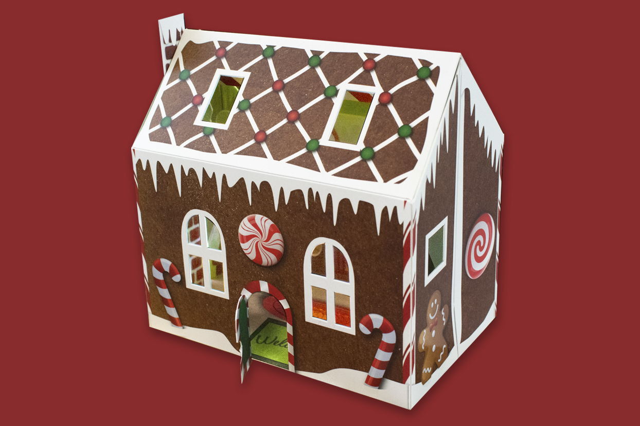 Gingerbread Pop-Up House