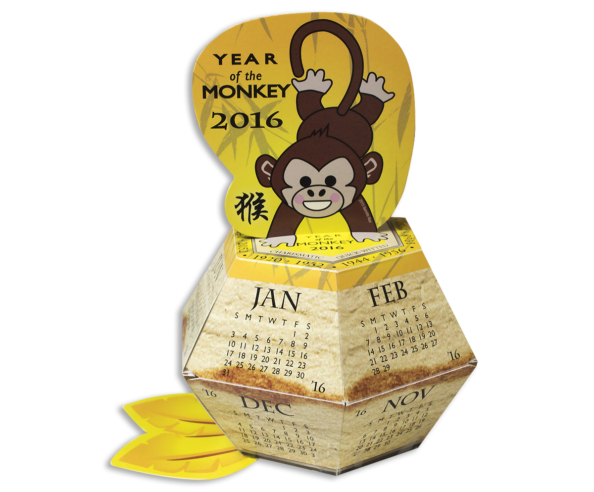 Year of Monkey Pop-Up